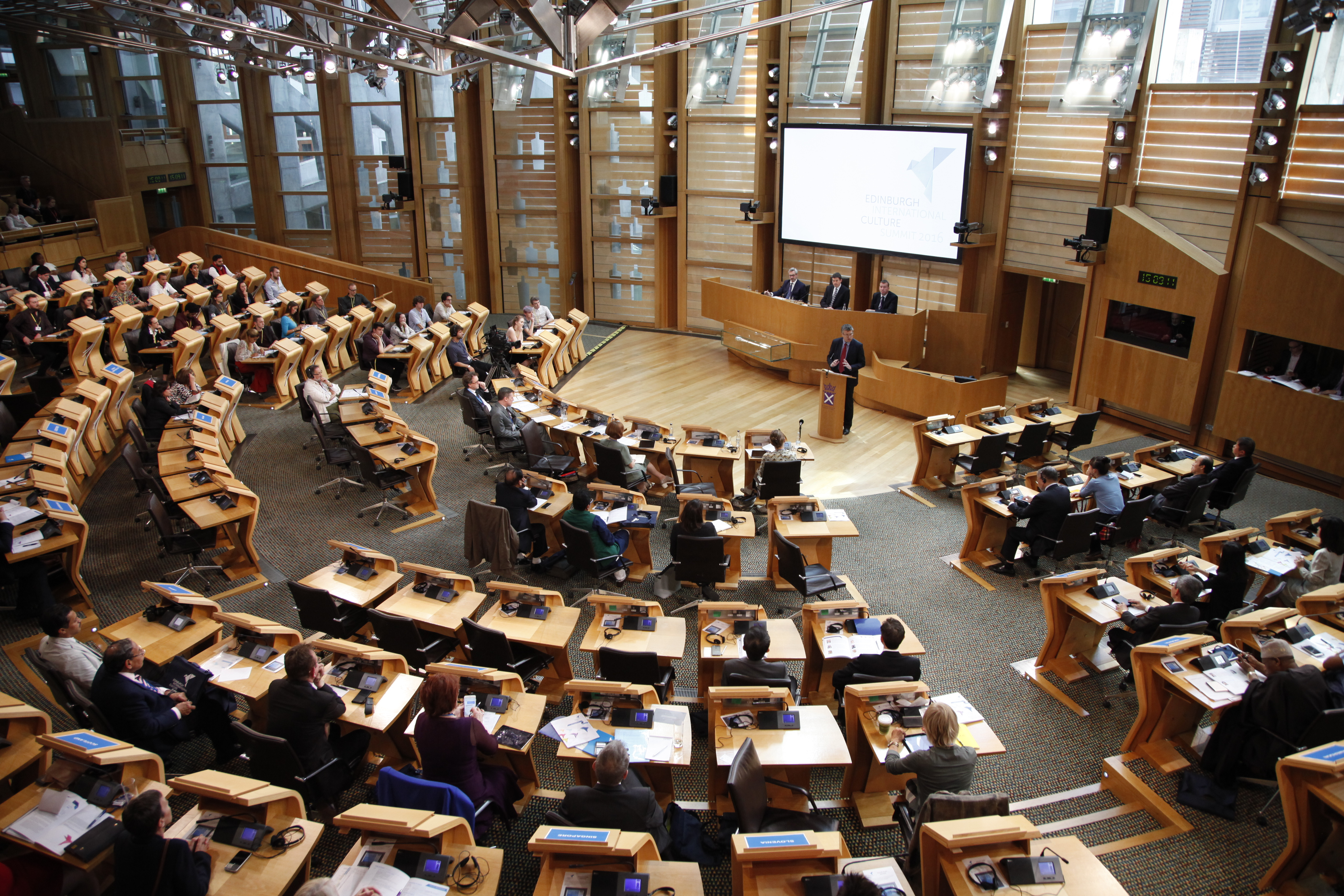 Delegations from over 40 countries to attend Edinburgh International Culture Summit