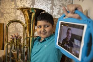 Big Noise musician has online lesson